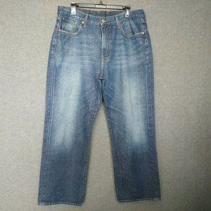 Lucky Brand Classic Fit Straight Leg Mens Jeans